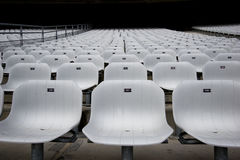 Empty Seats Frontal Stock Photography