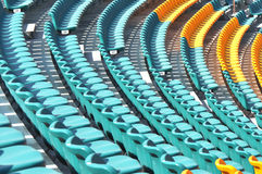 Empty seats at gymnasium Royalty Free Stock Photos