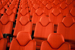 Empty Seats In A Row Stock Photography