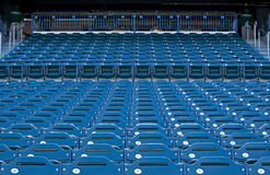 Empty Seats at a Stadium Stock Images