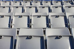 Empty seats in stadium Stock Photography