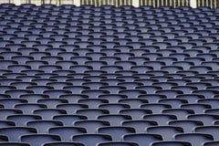Empty seats in a stadium Stock Photo