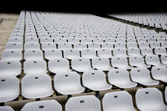 Empty Seats at the Stadium Stock Photography