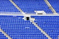 Empty seats in stadium Stock Photography