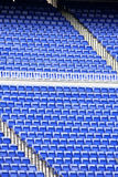 Empty seats in stadium Royalty Free Stock Photos