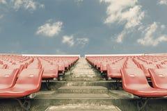 Empty seats at the Stadium Royalty Free Stock Photography