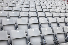 Empty seats in a stadium Stock Photography