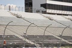 Empty seats in stands of motor speedway. Empty seats in stands of modern motor speedway stock images