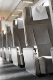 Empty seats in train Royalty Free Stock Photography