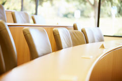Empty Seats In University Lecture Theatre Royalty Free Stock Photography