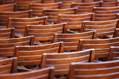 Empty seats Royalty Free Stock Photo