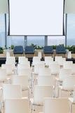 Empty seminar room Royalty Free Stock Photo