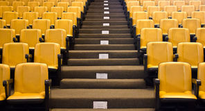 Empty Seminar Seat. Royalty Free Stock Photography