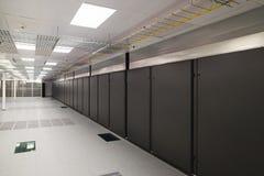 Empty server room Stock Photography