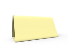 Empty sheet Royalty Free Stock Photography