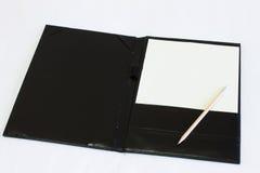 Empty sheet Stock Photo