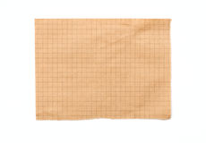 Empty sheet from a notepad Royalty Free Stock Images