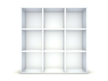 Empty shelf Royalty Free Stock Image