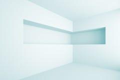 Empty Shelf. 3d Illustration of Empty Shelf Stock Images