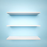Empty Shelfs Royalty Free Stock Photography
