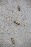 Empty shell casings Royalty Free Stock Image