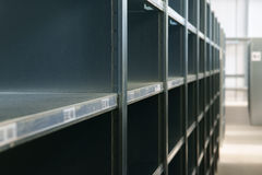 Empty Shelves Out of Stock Stock Photos