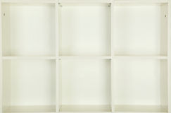 Empty shelves Royalty Free Stock Images