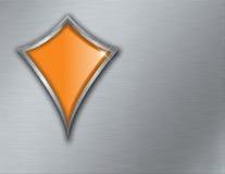 Empty shield logo Stock Photo