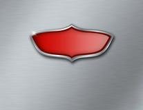 Empty shield logo Royalty Free Stock Photo
