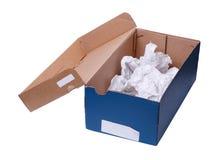 Empty shoebox Stock Images
