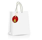 Empty Shopping Bag for advertising and branding Stock Photography