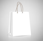 Empty Shopping Bag for advertising and branding Royalty Free Stock Image