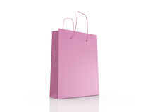 Empty Shopping Bag Stock Photo