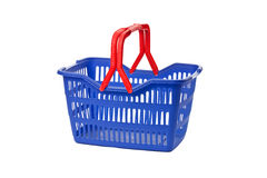 Empty shopping basket Stock Photography