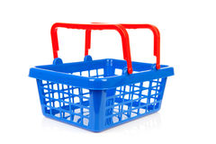Empty shopping basket Royalty Free Stock Image