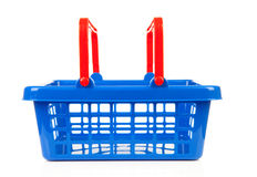 Empty shopping basket Stock Images