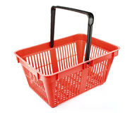 Empty shopping basket Stock Image