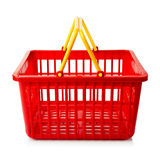 An empty shopping basket Royalty Free Stock Photos