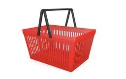 Empty shopping basket Royalty Free Stock Photo