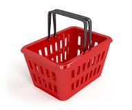 Empty shopping basket Royalty Free Stock Images