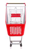 Empty a shopping cart Royalty Free Stock Photo