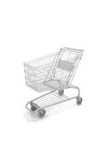 Empty Shopping Cart Royalty Free Stock Image