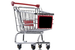Empty shopping cart Royalty Free Stock Photo