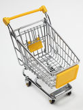 Empty shopping cart Royalty Free Stock Photography