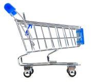 Empty shopping cart Royalty Free Stock Photo
