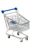 Empty shopping cart. Royalty Free Stock Photos