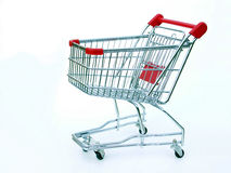 Empty shopping cart stock images