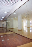 The empty shopping center.Crisis Royalty Free Stock Photos