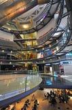 Empty shopping centre, The Arenas mall, Barcelona Stock Photos