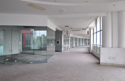Empty Shopping Mall Stock Image
